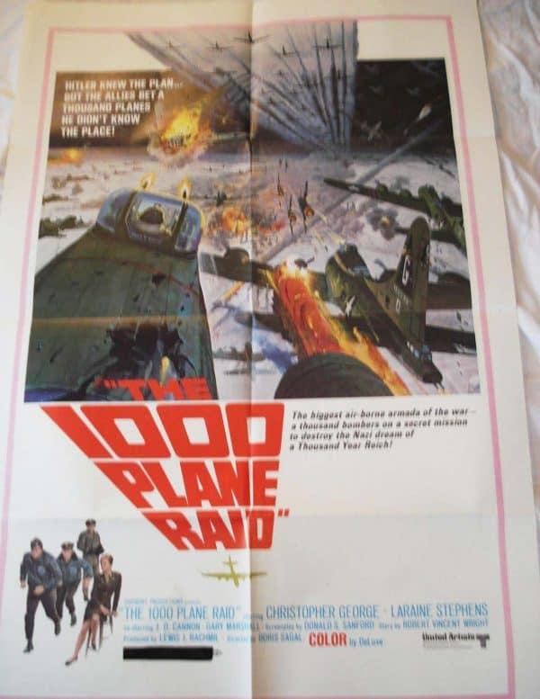 1000 plane raid movie poster