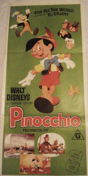 PINOCCHIO day bill movie poster