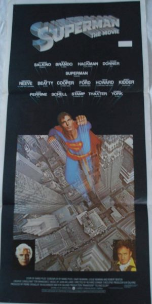 SUPERMAN THE MOVIE movie poster