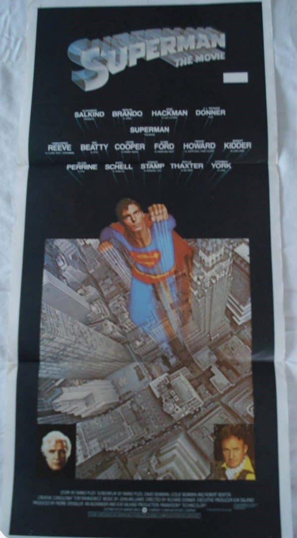 SUPERMAN THE MOVIE movie poster