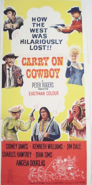 carry on cowboy movie poster