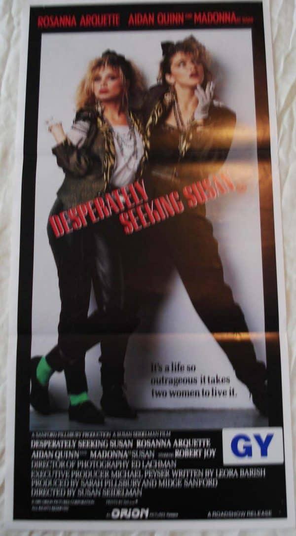 desperately seeking susan movie poster
