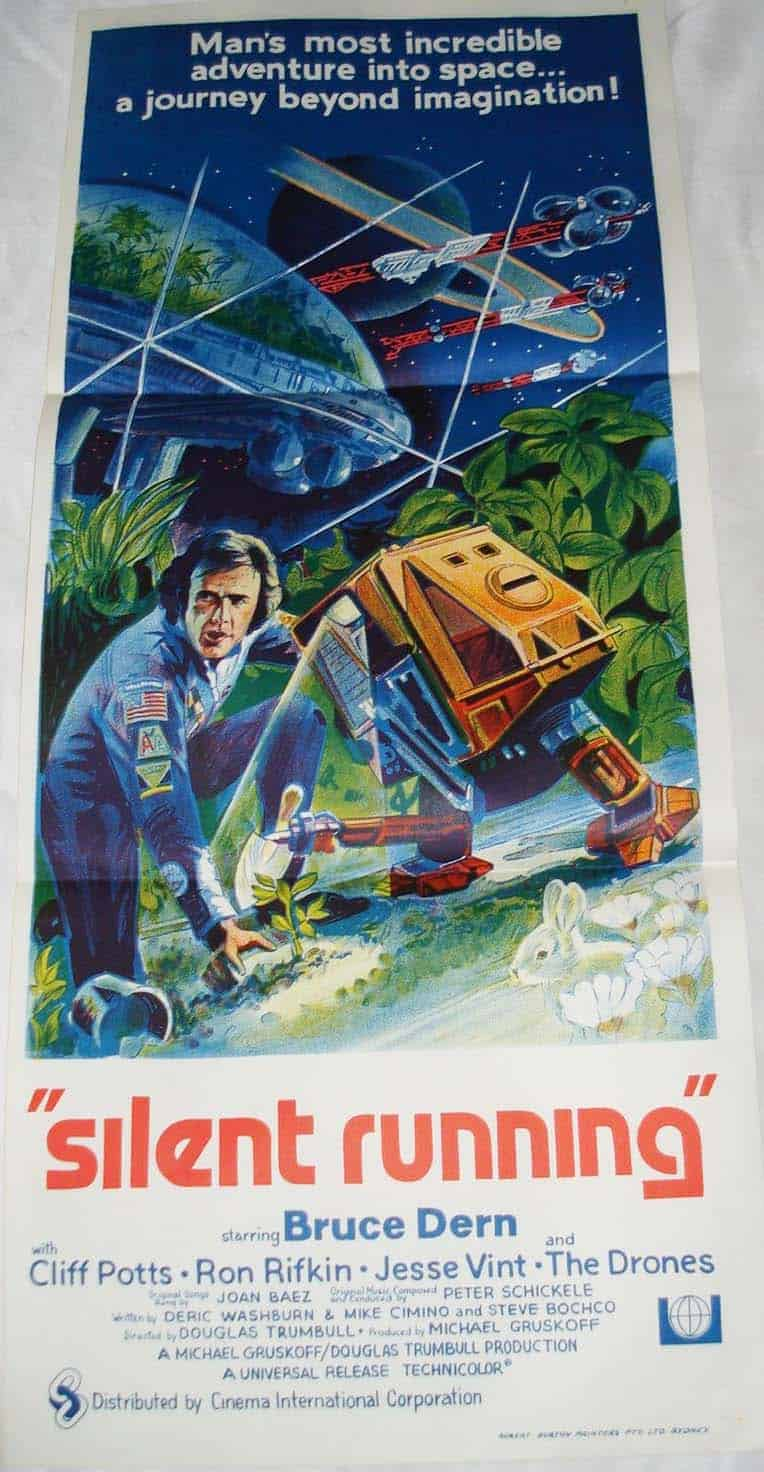 silent running freds movie posters