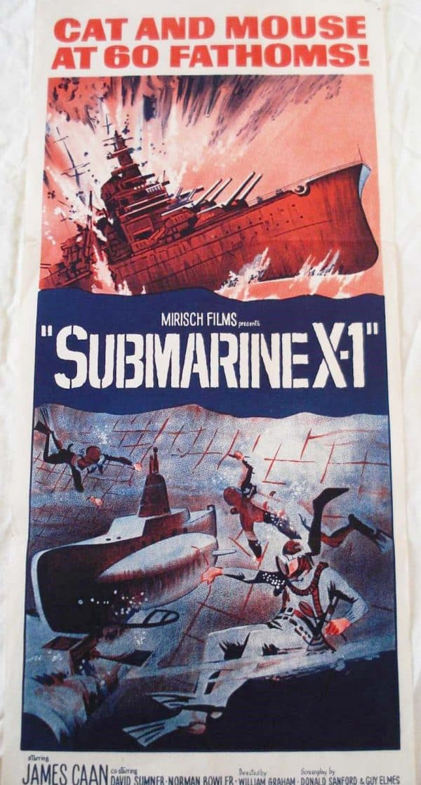 submarine x-1 movie poster