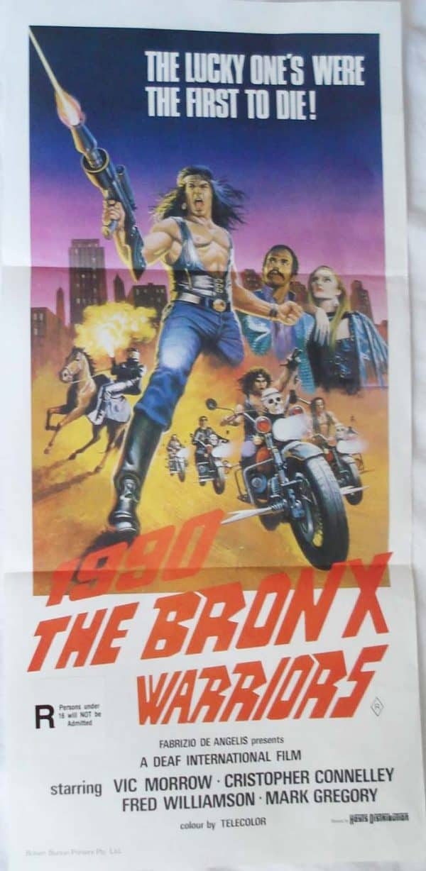 the bronx warriors movie poster