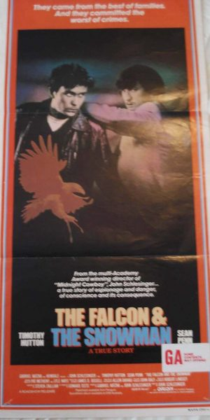 the falcon & the Snowman movie poster