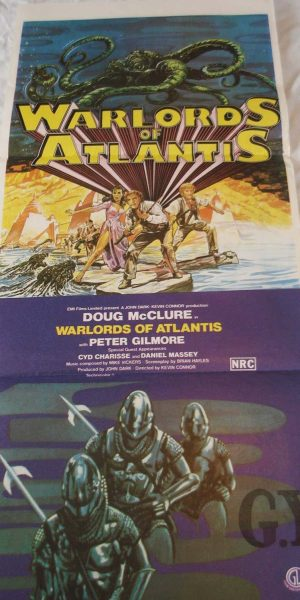 warlords of atlantis movie posters